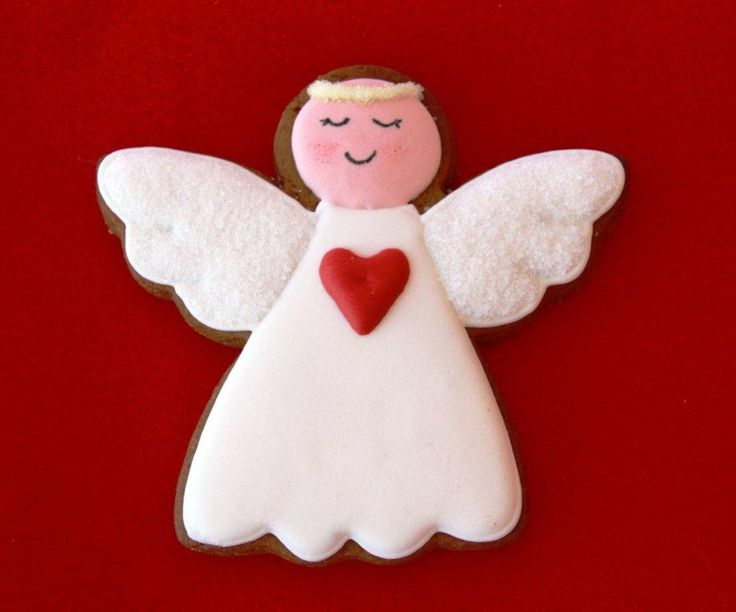 Love this rendition of one of our most popular Christmas shapes, the Angel Cookie Cutter.