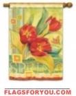 Super Tulips Garden Flag - 1 left