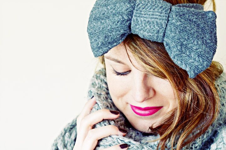 Upcycle old tights and turn them into a new headband for winter with this tutorial from Clones n Clowns. After just a little bit of sewing, you'll have a warm and stylish headband. Plus you will feel good about recycling old clothing!