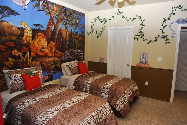 17 best images about jungle themed room ideas on pinterest for Jungle themed bedroom ideas