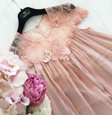 CRISTALLINI #CocktailDress #Prom #Silk #PinkDress