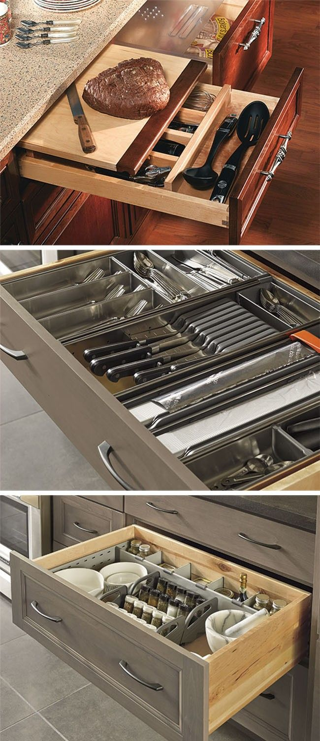 Kitchen Drawer Organizing 17 Best Images About Kitchen Organized Drawers On Pinterest