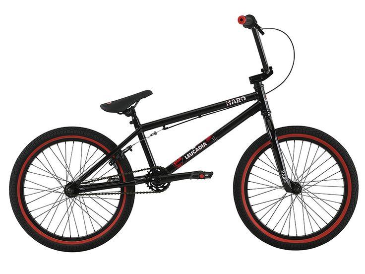 "Haro Bikes ""Leucadia"" 2017 BMX Bike - Gloss Black | kunstform BMX Shop & Mailorder - worldwide shipping"