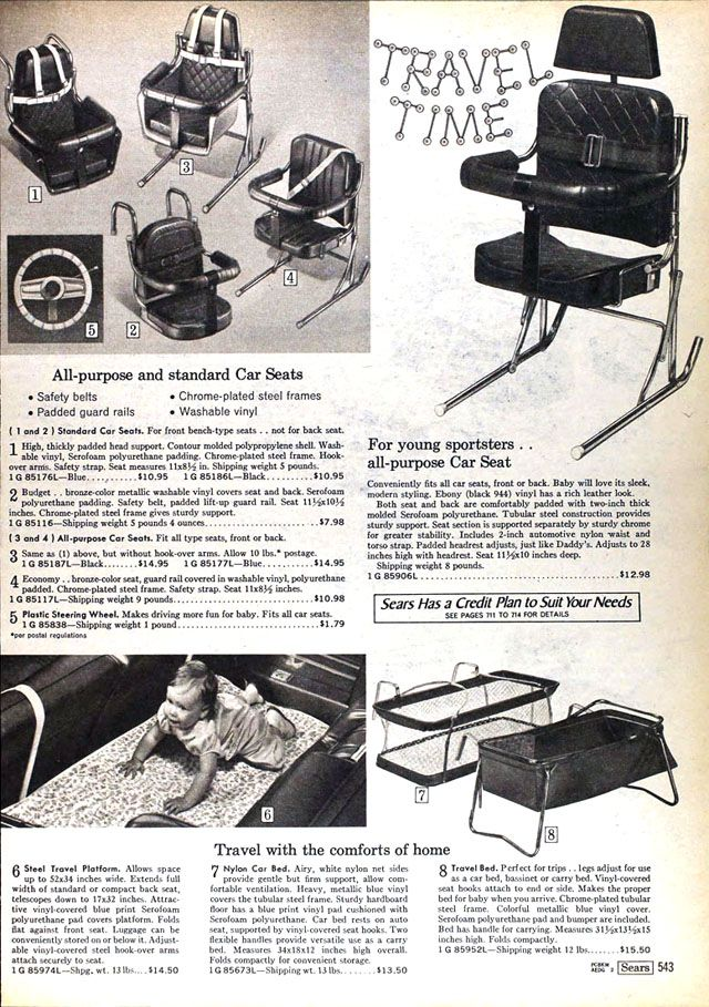 Car Seat Technology Has Come A Long Way Since The 1960s For Instance We Dont Use Steel Slabs Babies Anymore Continue Reading