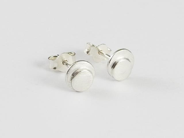 Everyday earrings, stud earrings, Små rundt øredobber