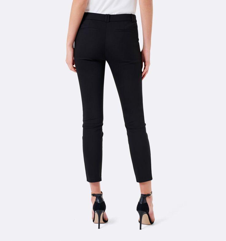 Grace 7/8th slim pants Black - Womens Fashion | Forever New