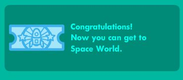 I am SO incredible happy! I can finally go to space!