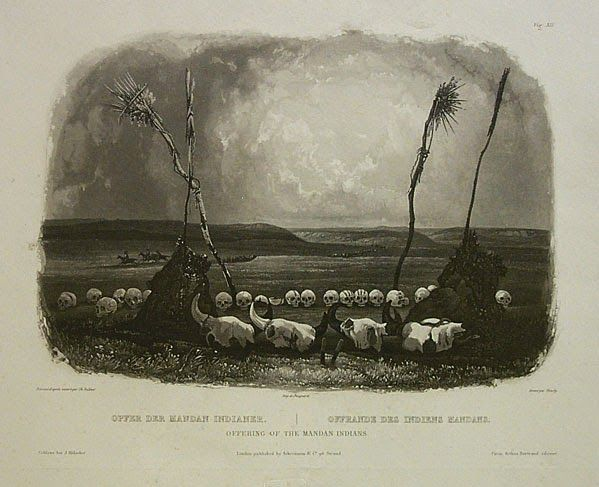 Indian Pictures: Offering of the Mandan Indians
