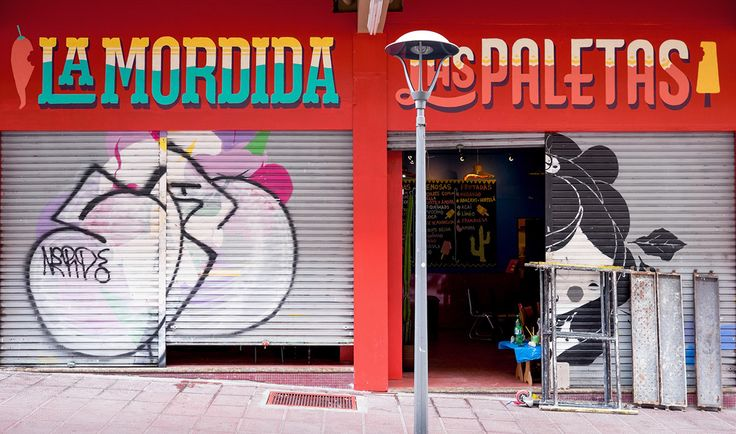 La Mordida Sign Painting on Behance
