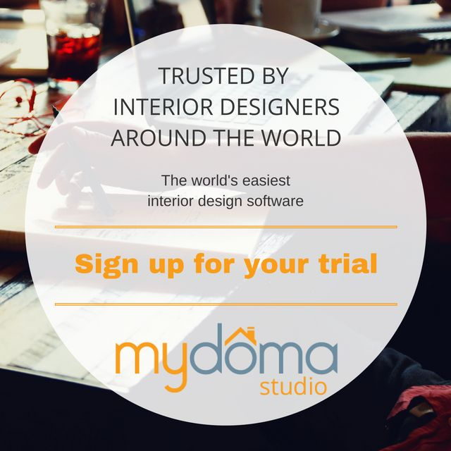 15 day unlimited access to Mydoma Pro. The Interior Design Professionals secret weapon.   Try it out and see what interiors designers around the world, and their clients, are talking about.   Not sure if its the right fit? Come watch our weekly webinar to learn how it can help your business.   https://www.mydomastudio.com/book-demos
