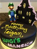 luigi's mansion dark moon cake - Google Search
