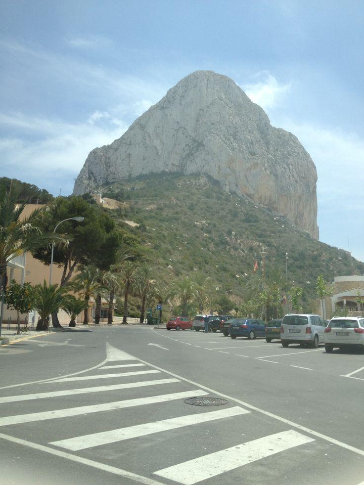 Calp in Alicante, Valencia