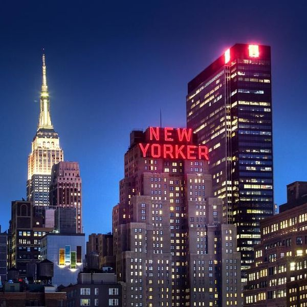 Vacation Hotel In Manhattan The New Yorker Hotel Empire State Building