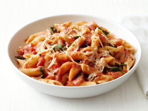 Penne With Vodka Sauce recipe from Food Network Magazine. Try with spinach!