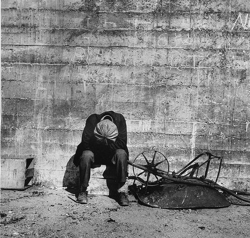 Against the Wall, San Francisco 1934, by Dorothea Lange | Flickr