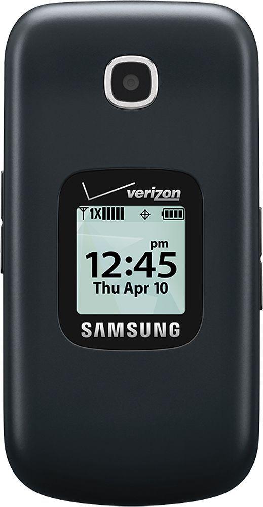 Verizon Wireless Prepaid - Samsung Gusto 3 No-Contract Cell Phone - Dark Blue, SMB311VZPP