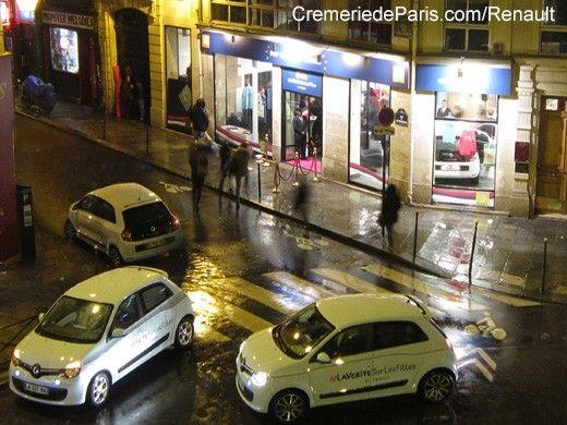 Pop up Store Renault (Twingo) à la Cremerie de Paris