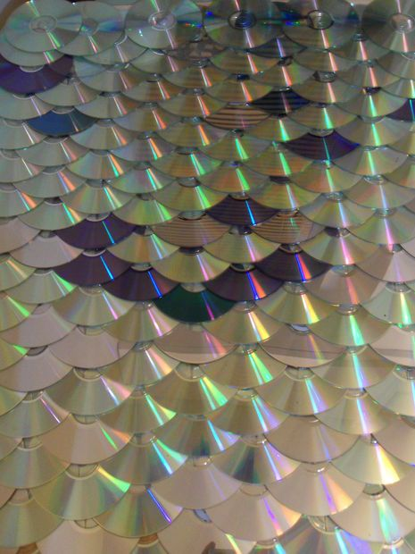 Cd Dvd Roofing Concept Mermaid Tail Roof Tiles