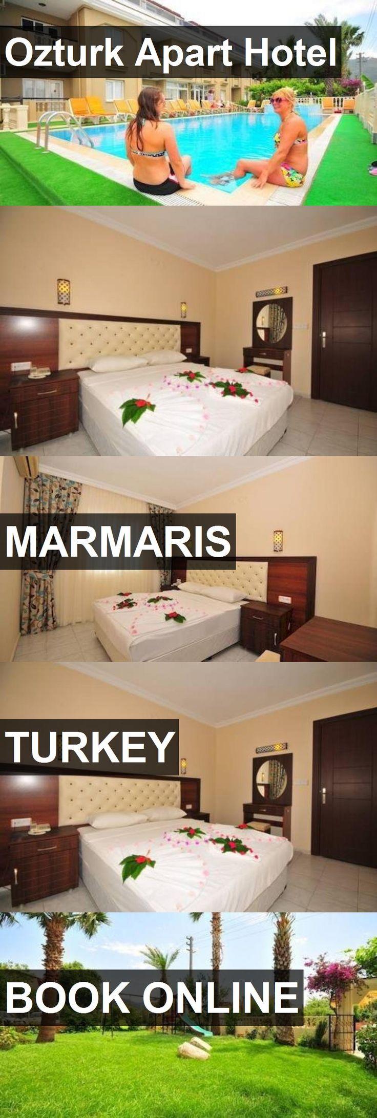 Hotel Ozturk Apart Hotel in Marmaris, Turkey. For more information, photos, reviews and best prices please follow the link. #Turkey #Marmaris #OzturkApartHotel #hotel #travel #vacation