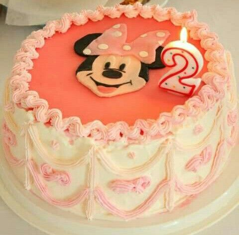 Minney-Mouse cake