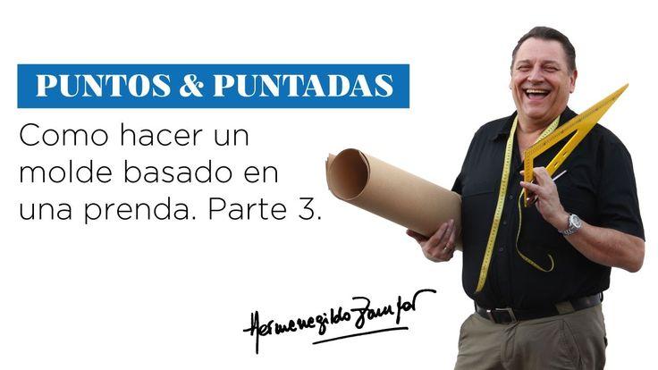 Hermenegildo Zampar - Puntos y Puntadas 25 - Como hacer un molde basado ...