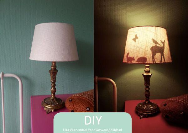 DIY silhouette lamp - Moodkids | Moodkids