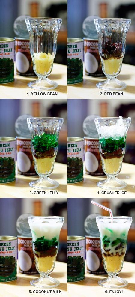 Mung Bean Drink w/ Coconut Milk