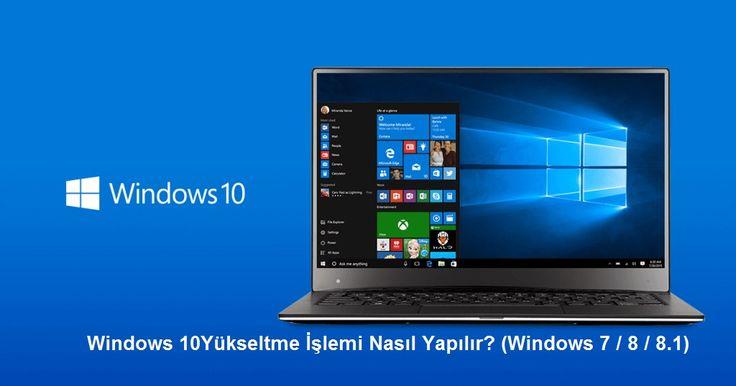 Windows 10 Yükseltme Nasıl Yapılır?   Devamı İçin:  https://www.pcbilimi.com/windows-10-yukseltme-nasil-yapilir/  Windows 10, Windows 10 indir, Windows 10 Yükle, Windows 10 Yükselt, Windows 10 Yükseltme, Windows 10 Yükseltme Yardımcısı, Windows 7, Windows 7 SP1, Windows 8, Windows 8.1 Update, windows yükseltme   Windows
