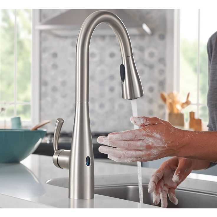 moen essie touchless 1 handle pull down