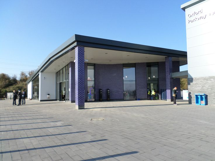 External wall insulation, ceramic tiles, Bicester railway station, Design finishes for railway stations.