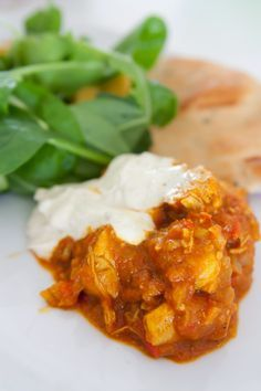 Gourmetmorsan: Indisk kycklinggryta