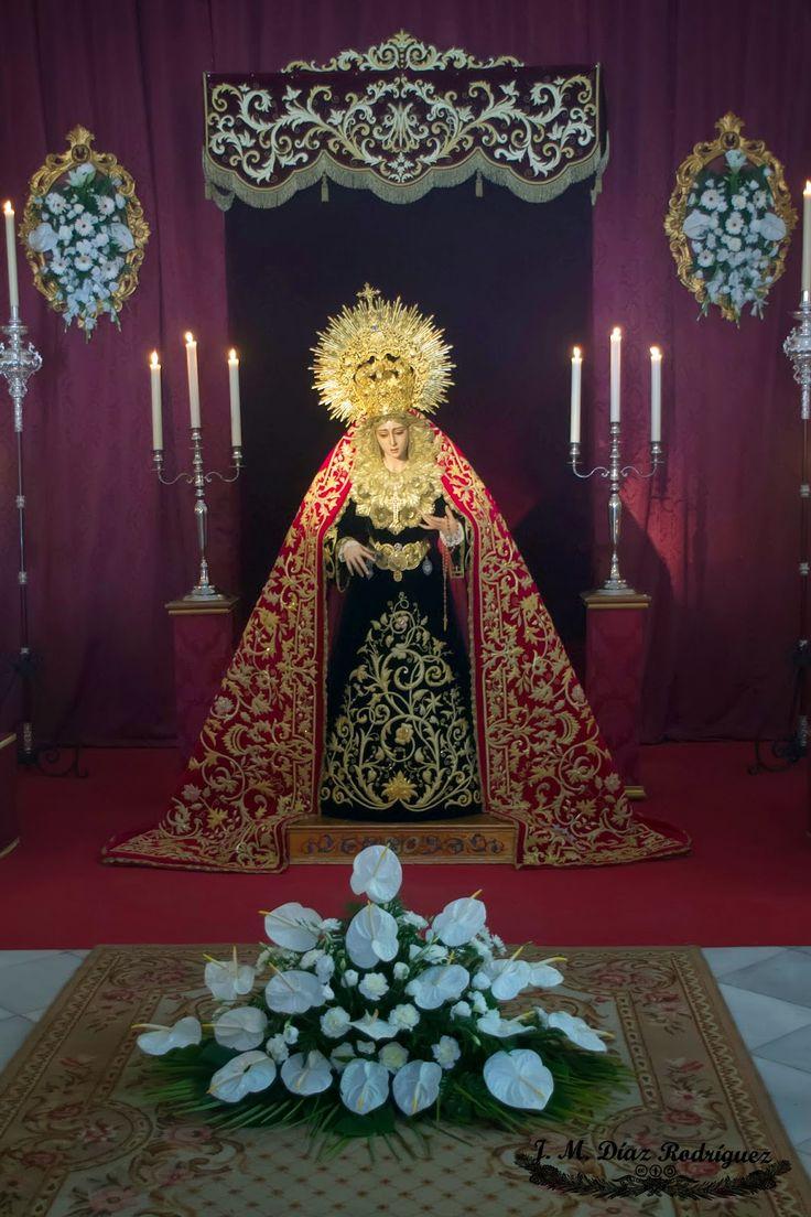 El Patriarca: Besamanos Ntra Sra de los Dolores (Hermandad San Jose Obrero)