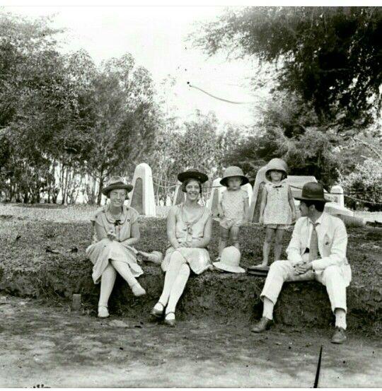 Johan eliza de vrij family at Jayagiri, West Java