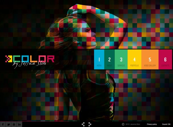 Color folio HTML5 Template by Dynamic Template