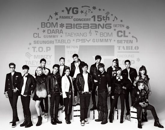 YG Entertainment's financial report reveals some of the upcoming plans for 2013