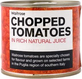 Waitrose chopped tomatoes