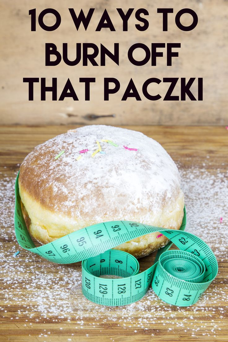 Happy Paczki day! If you're indulging today, read this article on how to burn off those calories!   View 10 different workouts that burn off a ton of calories! You will need it for days when you over-indulge!