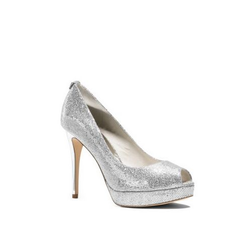 MK Black Friday Sales & MICHAEL MICHAEL KORS York Metallic Leather Platform Pump GOLD