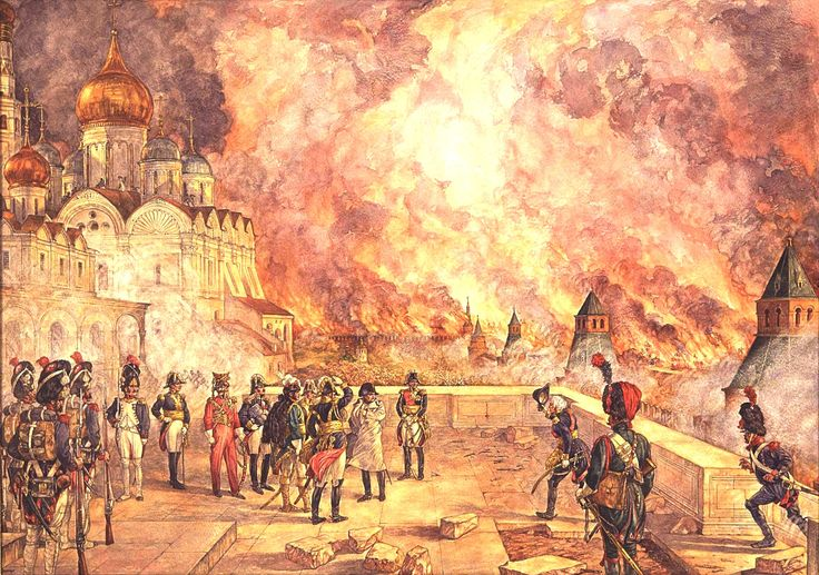 Brand van Moskou in 1812