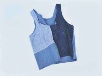 Patchwork Tank by haluna | Project | Sewing / Shirts, Tanks, & Tops | Kollabora