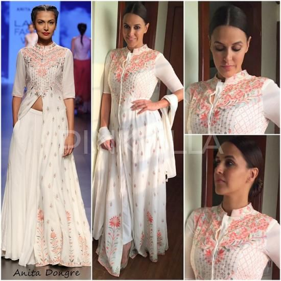 Yay or Nay : Neha Dhupia in Anita Dongre