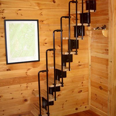 Another Option Is To Order The Karina Stairs Kit, Which Gets Delivered With  Railings,