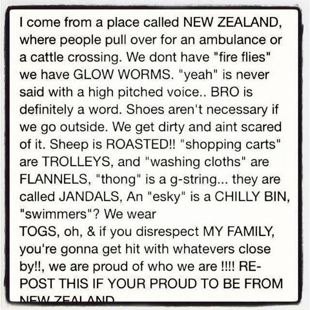 I am a Kiwi