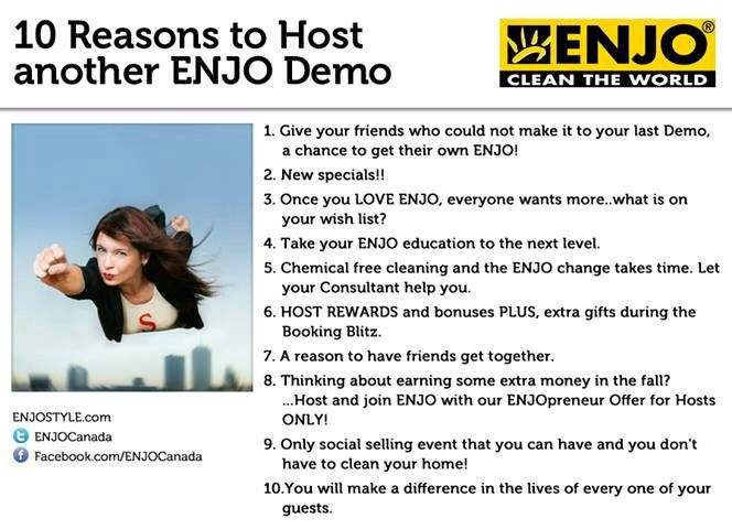 Ten reasons to host a demo.