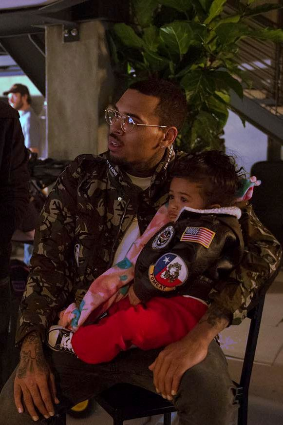 Chris brown and his daughter royalty  Pinterest: Tweebabii89
