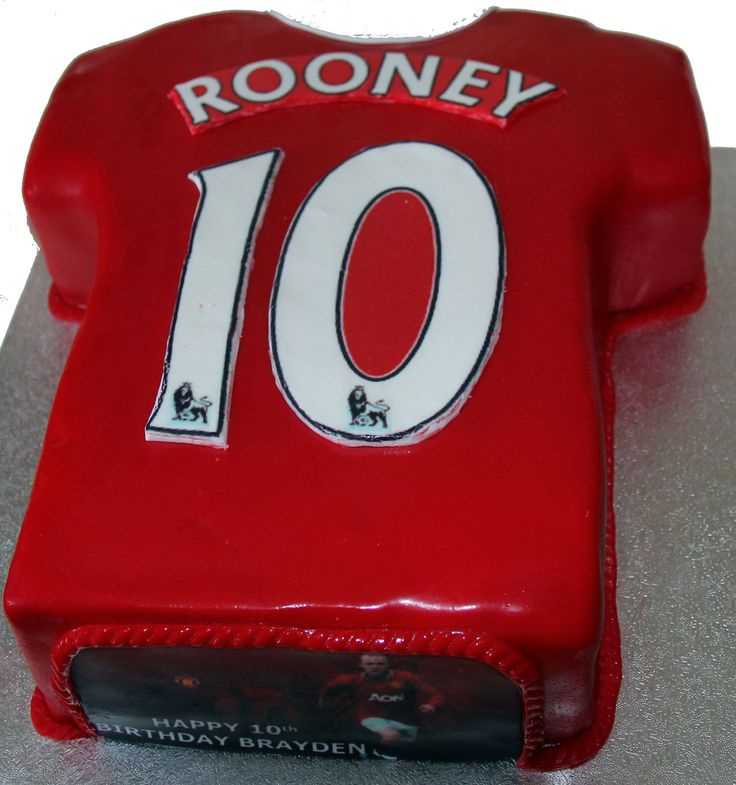 Manchester United Cake Like us on www.facebook.com/melianndesigns