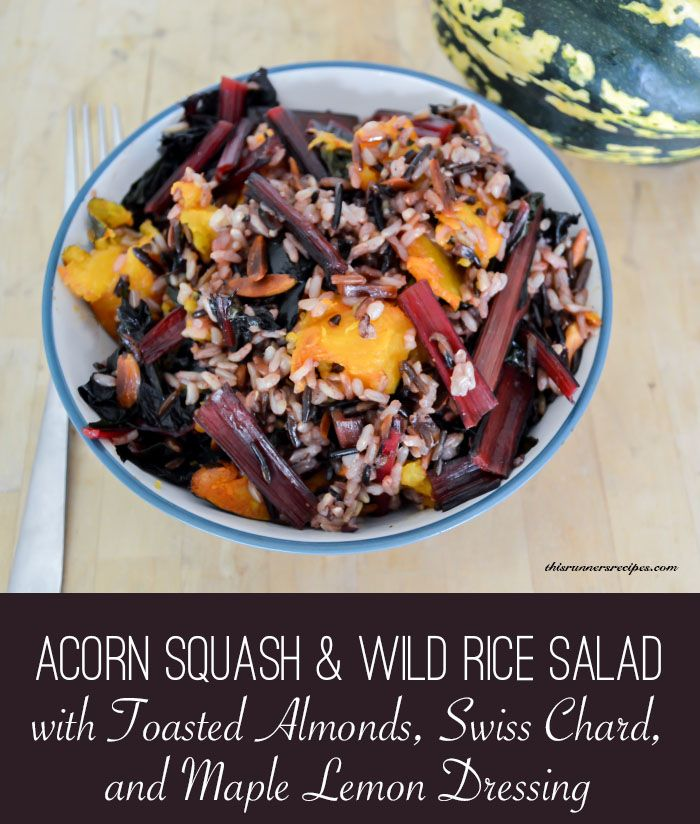 ... Wild Rice Salad with Toasted Almonds, Swiss Chard, and Maple Lemon