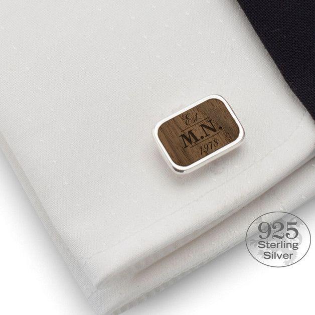 Manschettenknöpfe - Geburtstagsgeschenk für männer | Manschettenknöpfe - ein Designerstück von ZaNa-Design bei DaWanda