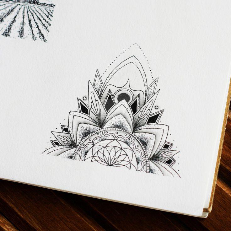1000+ ideas about Half Mandala Tattoo on Pinterest ... - photo#18