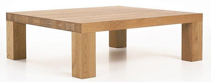 Mesa de centro moderna de madera maciza - STATO by Johannes Hebing - More Moebel